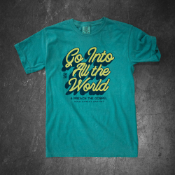 Go Into The World - Mission Trip Shirt