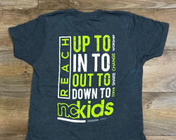 Reach out to nckids tee