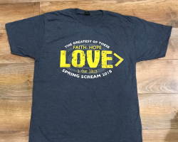 Faith, Love, Hope Tee