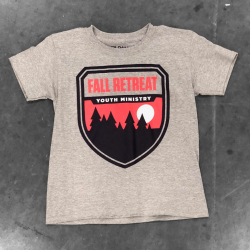 Fall Retreat Youth Ministry Shirt