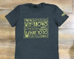 I know somebody bible verse tee