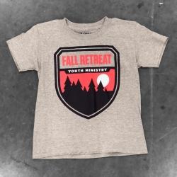 Fall Retreat Youth Ministry Shirt