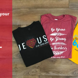 Soft shirts for your youth group